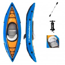 BW Лодка 65115 каяк, 275-81см, весла, ножной насос, рем.запл