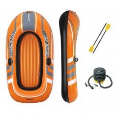 Лодка 61062 Hydro-Force Raft Set, 188-98см, надув, на 1чел, весла, ножной насос