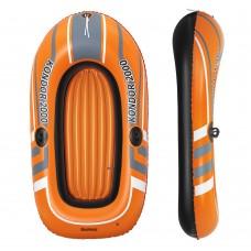 Лодка 61100 Hydro-Force Raft, 188-98см, надувная, 1взрос+1реб, весла