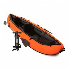 Лодка 65052 Hydro-Force Raft Set, 330х94х48 см, весла, 218 см, насос, сумка