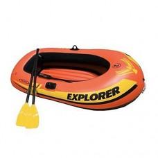 Лодка EXPLORER 58331 вёсла насос