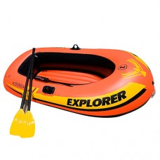 Лодка EXPLORER 58332 на 2 чел, весла, ручной насос