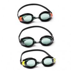 BW Очки для плавания 21078 регулир.ремешок, 3цвета