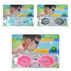 Очки для плавания 55684 с защитой от ультрафиолетовых лучей и антизапотевающим покрытием для детей от 8 лет, серия «спорт», 3 цвета