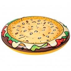 Плотик Bestway 43250 бургер, 158 см, ремкомплект