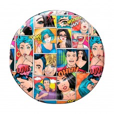 Плотик Bestway 43264 комикс, 188 см, ремкомплект