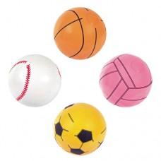 Мяч 31004 Виды спорта, 41см, 4 вида