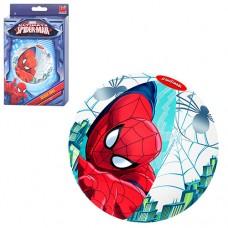 Мяч 98002 надувной, спайдермен. Рассчитан на возраст от 2-х лет. Диаметр - 51 см. В коробке 19-12-2, 5 см .