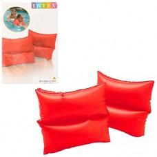 Нарукавник 59640 красный, размер нарукавника 19-19см, возраст от 3 до 6 лет, материал:винил, 2шт в кульке, 16-25-1см