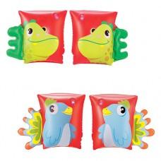 BW Нарукавники 32115 23-15см, 2 вида попугай, дракон