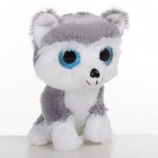 Мягкая игрушка 60788 собачка, 13 см, глазастик