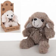 Мягкая игрушка MET10078 собачка, 11см, 2цвета
