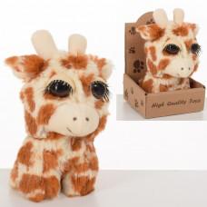 Мягкая игрушка MET10092 жираф, 13см