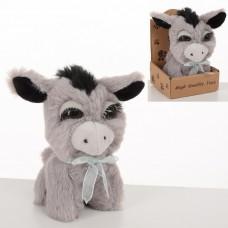 Мягкая игрушка MET10098 ослик, 13см