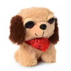 Мягкая игрушка MET10103 собачка, 12см, упаковка 12шт в кульке