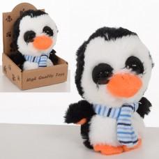 Мягкая игрушка MET10108 пингвин, 12см