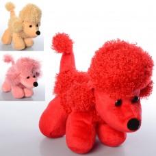 Мягкая игрушка MP 1623 собачка, размер средний, 26см, микс цветов,