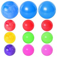 Мяч детский MS 0248 9 дюймов, ПВХ, 75г, 3 вида микс цветов