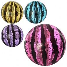 Мяч детский MS 0928 9 дюймов, арбуз, прозрачный, 75г, 4 цвета