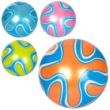 Мяч детский MS 1293 9дюймов, полноцветный, ПВХ, 60г, 4цвета