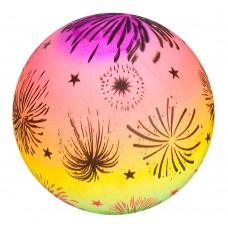 Мяч детский MS 1927 радуга, рисунок, 70г, 28смке