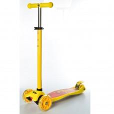 Самокат детский iTrike JR 3-055-K MAXI, желтый