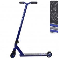 Самокат трюковый iTrike SR 2-036-T7-BL, синий
