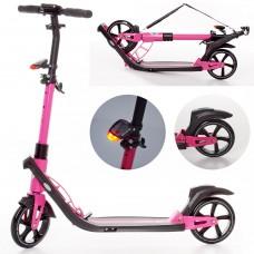 Самокат для взрослых iTrike SR 2-040-P, розовый