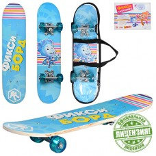Скейтборд Profi FX 0006, голубой