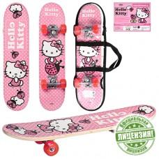 Скейтборд детский Profi HK 0052 Kitty, розовый