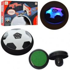 Игра M 5703 футбол, аэромяч, 11см, свет