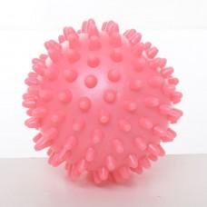 Мяч массажный MS 2096-1 ПВХ, 7, 5см, 6цветов