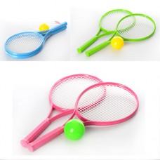 Набор для игры в большой теннис ТехноК 2957 поролоновый мячик