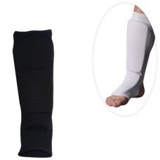 Защита MS 0674 S для борьбы, эластичн, для ног, голень+стопа, размS, 43-13см, 2цв, в кул