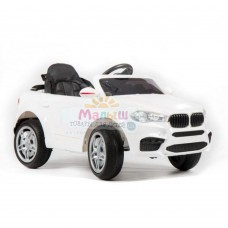 Детский электромобиль Джип Bambi M 3180 EBLR-1 BMW X5, белый