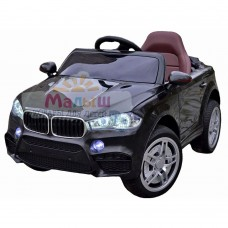 Детский электромобиль Джип Bambi M 3180 EBLR-2 BMW X5, черный