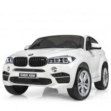 Двухместный детский электромобиль Джип Bambi JJ 2168 EBLR-1 BMW X6M, белый
