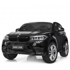 Двухместный детский электромобиль Джип Bambi JJ 2168-2 EBLR-2 BMW X6M, черный