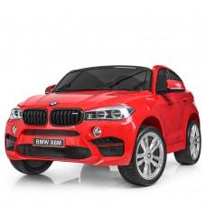 Двухместный Детский электромобиль Джип Bambi JJ 2168 EBLR-3 BMW X6M, красный