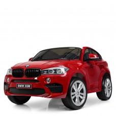 Двухместный детский электромобиль джип Bambi JJ 2168 EBLRS-3 BMW X6M, красный