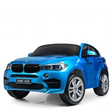 Двухместный детский электромобиль Джип Bambi JJ 2168 EBLRS-4 BMW X6M, синий