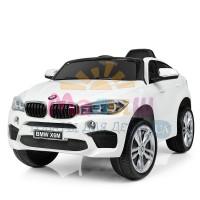 Детский электромобиль Джип Bambi JJ 2199 EBLR-1 BMW X6M, белый
