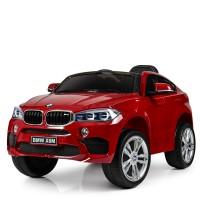 Детский электромобиль Джип Bambi JJ2199 EBLRS-3 BMW X6M, красный