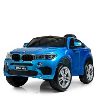 Детский электромобиль Джип Bambi JJ2199 EBLRS-4 BMW X6M, синий