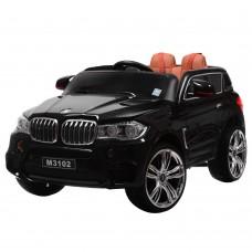 Детский электромобиль Джип Bambi M 3102 (MP4) EBLR-2 BMW X5, черный