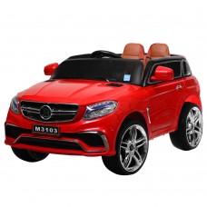 Детский электромобиль Джип Bambi M 3103 (MP4) EBLR-3 Mercedes AMG Brabus, красный