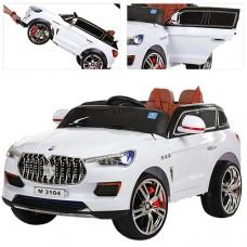 Детский электромобиль Джип Bambi M 3104 EBLR-1 Maserati, белый
