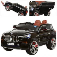 Детский электромобиль Джип Bambi M 3104 (MP4) EBLRS-2 Maserati, черный