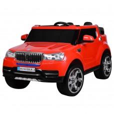 Детский электромобиль Джип Bambi M 3107 EBLR-3 BMW, двухместный, красный
