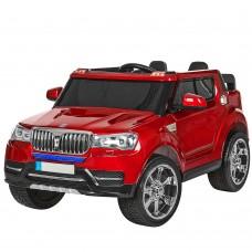 Детский электромобиль Джип Bambi M 3107 EBLRS-3 BMW, двухместный, красный